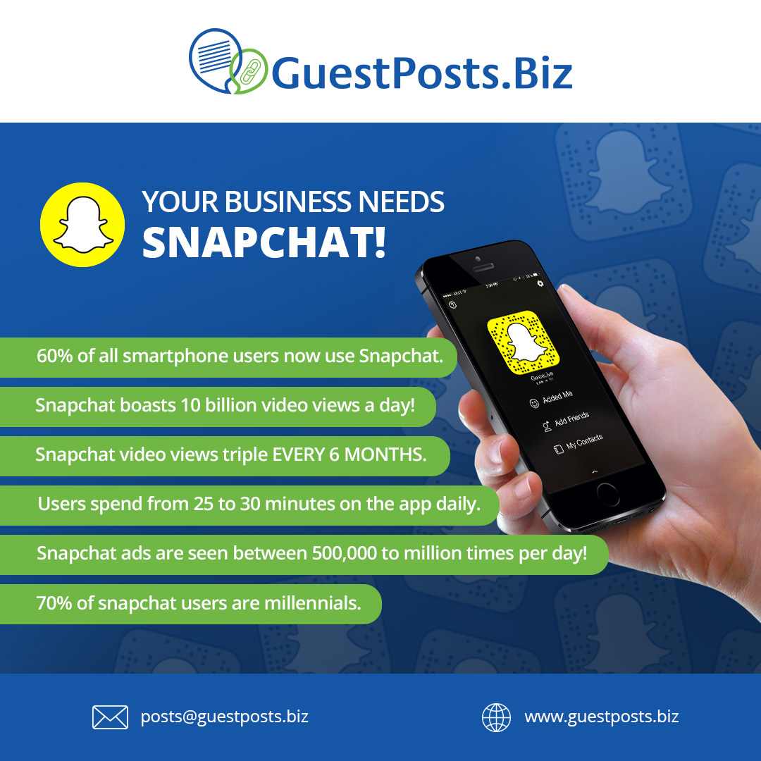 Your-Business-Needs-Snapchat!